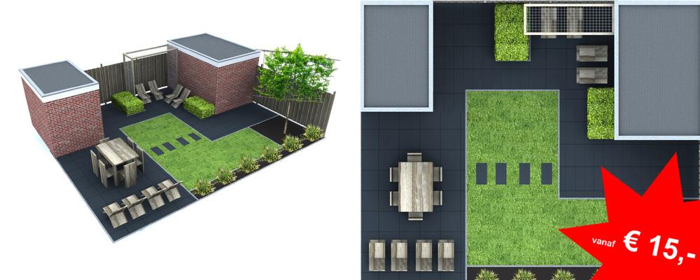 Symbolen Plattegrond Keuken : Wij maken plattegronden van uw tuin
