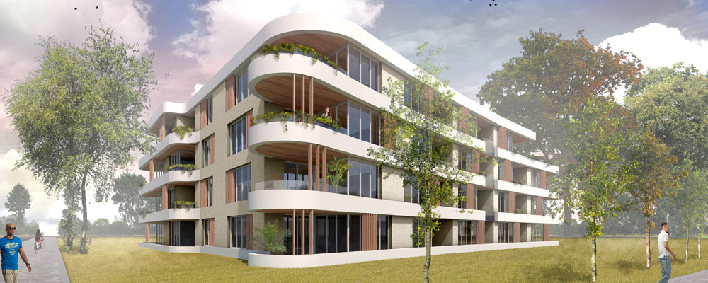 artist impression appartementen