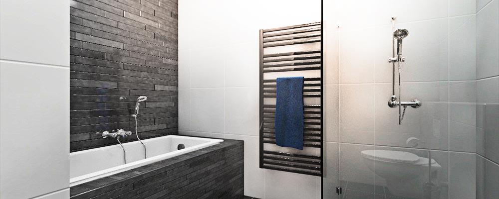Materiaalstudie - Witte badkamer ...