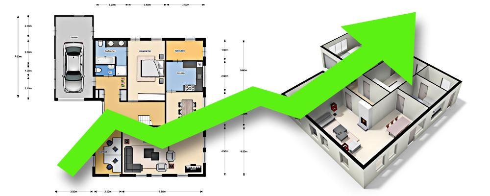 3d plattegrond for Woning op funda plaatsen