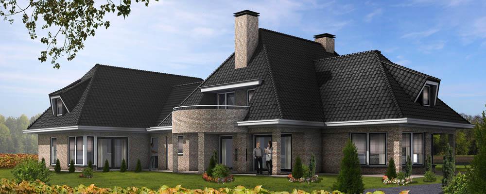 3d visualisaties en artist impressions for 3d huis tekenen