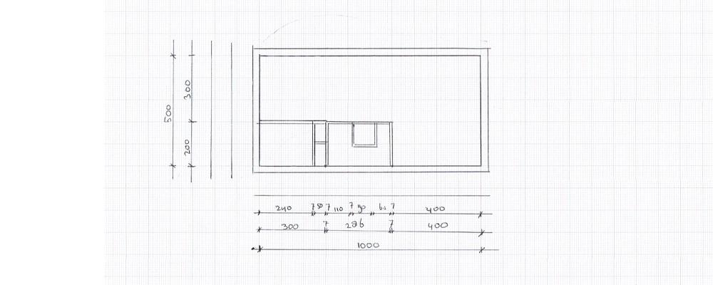 Inmeten woning for Huis inrichten op schaal