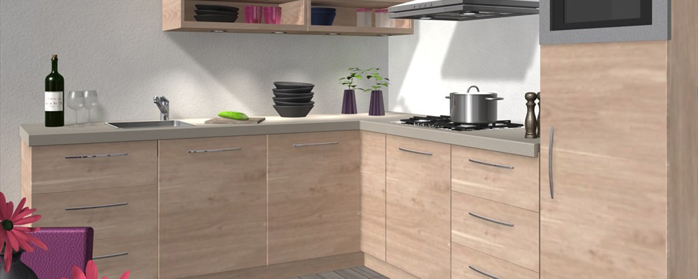 Keuken impressie - Winkel raam keuken ...