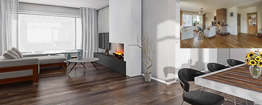 Interieur impressie en visualisatie for Huis interieur ideeen