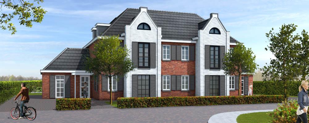 Digitaal uittekenen luxe woning vroondaal for Huizen tekenen