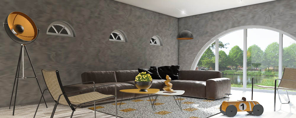 Interieur inspiratie meubels en accessoires oker trendy kleur