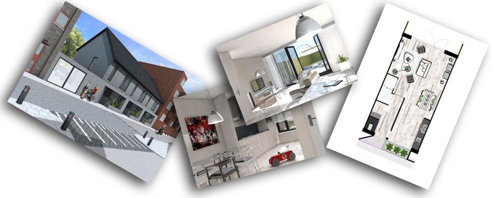 3d afbeeldingen voor verkoop woning for Huis aantrekkelijk maken voor verkoop