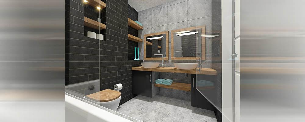 Badkamer restyle met 3d tekening for Tekening badkamer maken