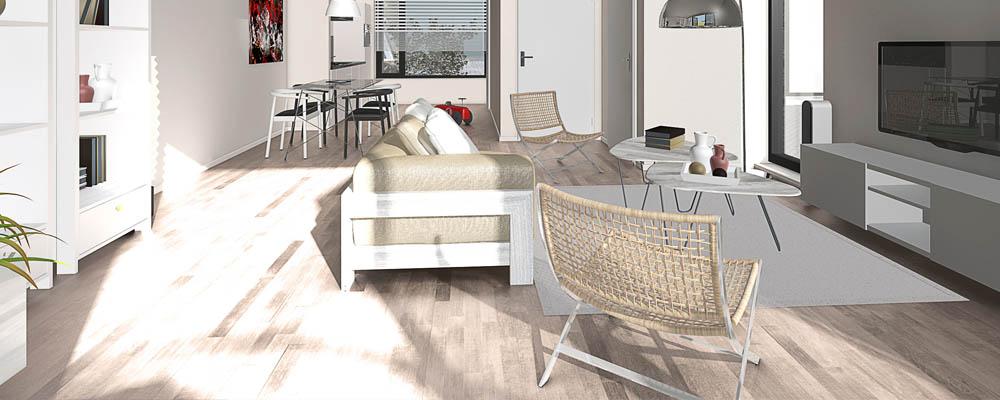 3d afbeeldingen voor verkoop woning for Afbeeldingen interieur