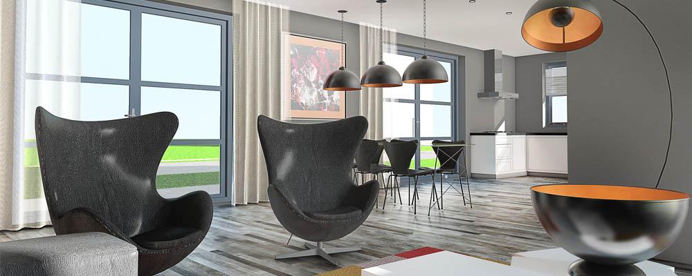 Woonkamer inrichten grijs een grijs interieur woonkamer zorgt voor rustige sfeer en geeft - Tapijt idee voor volwassen kamer ...