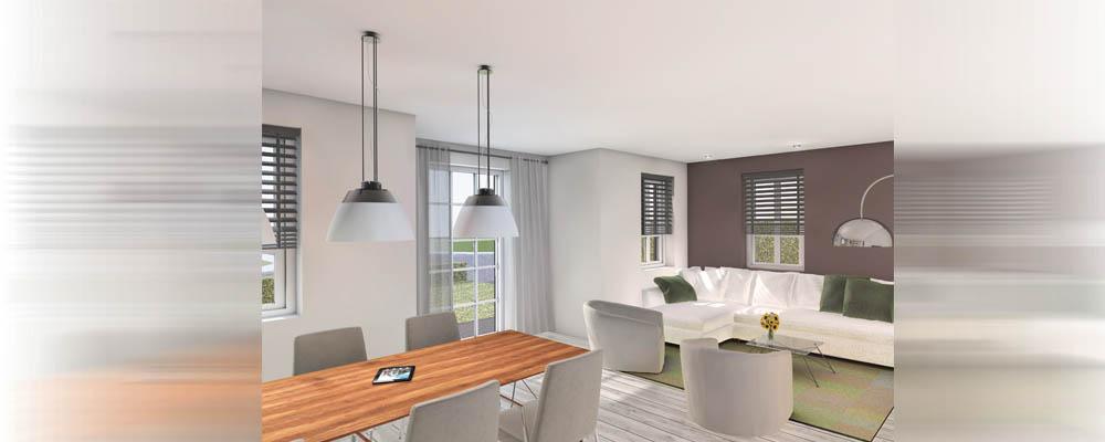 Digitaal uittekenen luxe woning vroondaal for Keuken in 3d tekenen